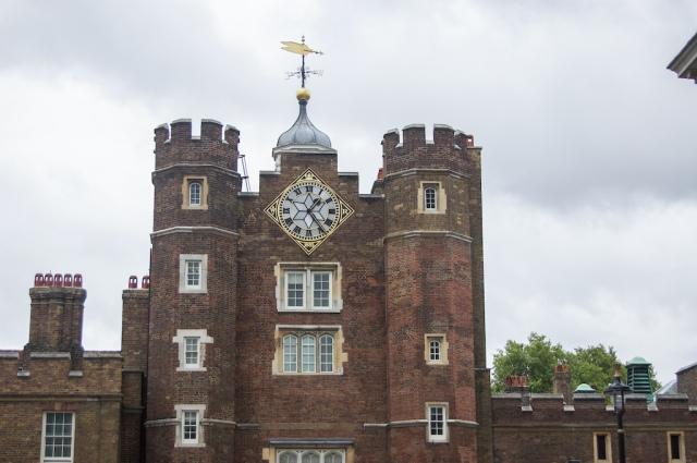 St James Palace upper floors