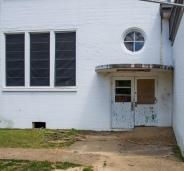 Bruce High School classroom entrance