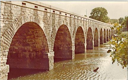 Bridge at Possum Kingdom Dam TX